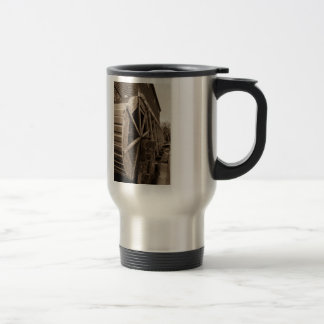Edwards Water Wheel Sepia Travel Mug