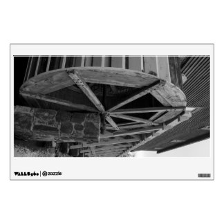 Edwards Water Wheel Wall Decal