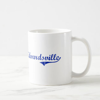 Edwardsville Kansas Classic Design Coffee Mug