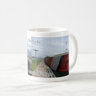 Edwin H. Gott at Soo Locks mug
