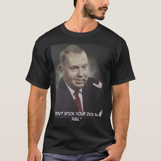 Edwin J. Hill T-shirt (Yes, we own the copyright)