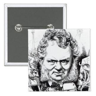 Edwin Landseer Pinback Button