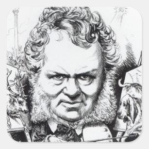 Edwin Landseer Square Sticker