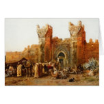 Edwin Lord Weeks- Gate of Shehal, Morocco Greeting Cards