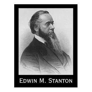 Edwin M. Stanton Tarjeta Postal