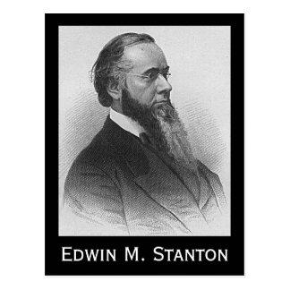 Edwin M. Stanton Tarjetas Postales