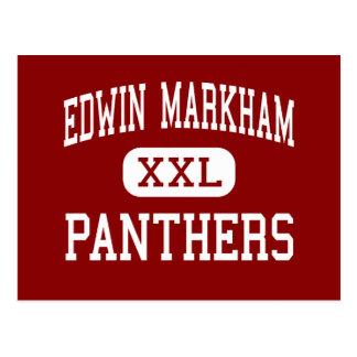 Edwin Markham - panteras - centro - Placerville Postal