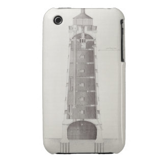 Edystone Lighthouse engraved by John Record (fl.17 Case-Mate iPhone 3 Case