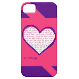 "ee cummings ""I carry your heart"" poem Phone Case"