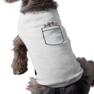 EE- Dog Biscuit Pocket Pet shirt. Shirt