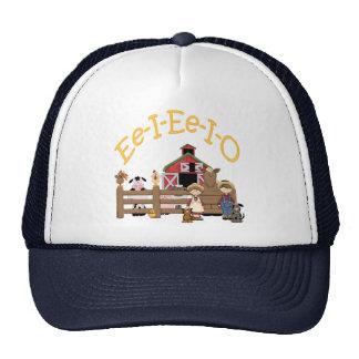Ee I Ee I O on the Farm Hat