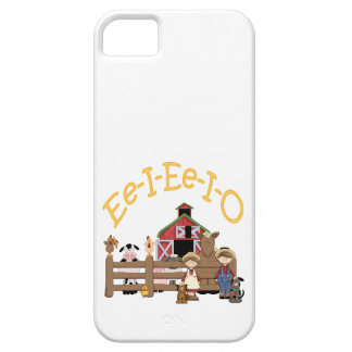 Ee I Ee I O on the Farm iPhone 5 Cases