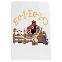 Ee I Ee I O on the Farm Medium Gift Bag