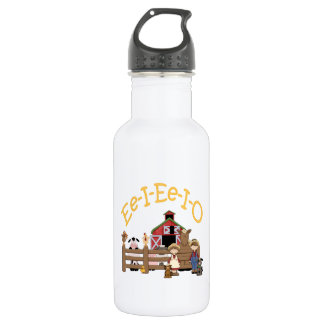 Ee I Ee I O on the Farm Stainless Steel Water Bottle