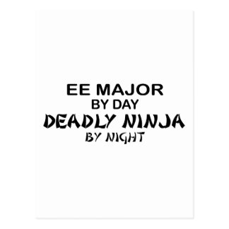 EE Major Deadly Ninja by Night Postcard