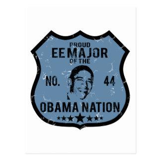EE Major Obama Nation Postcard
