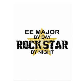 EE Major Rock Star by Night Postcard