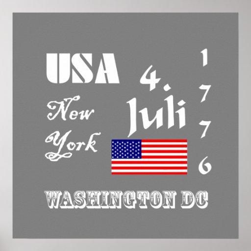 EE.UU. nacionalmente Posters