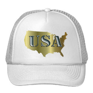 EE UU oro+Petrol Gorros