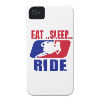 Eeat Sleep and ride iPhone 4 Case-Mate Case