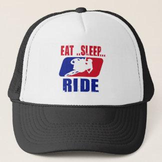 Eeat Sleep and ride Trucker Hat