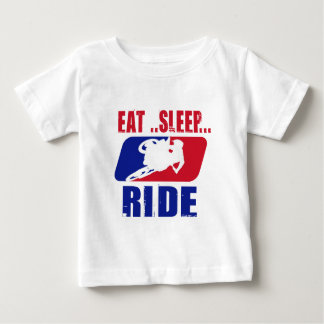 Eeat Sleep and ride Shirt