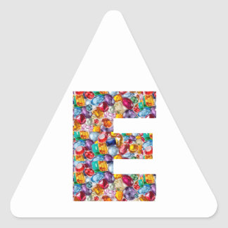 EEE  Share yr budget W KIDS, teach them YOUNG Triangle Sticker