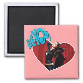 EEE-YOW! Catwoman 2 Inch Square Magnet
