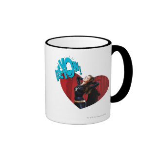 EEE-YOW! Catwoman Ringer Mug