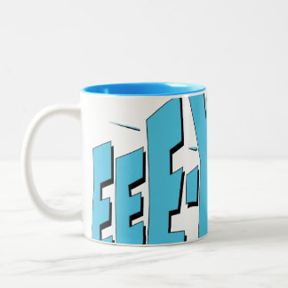 EEE-YOW! Two-Tone COFFEE MUG