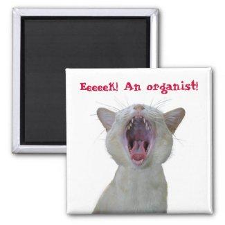 Eeek! An organist!
