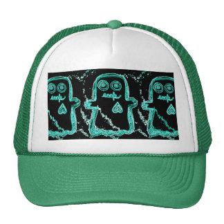 Eeek! Green Trucker Hat