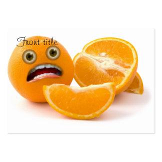 ¡EEEK Hacia fuera subrayado naranja