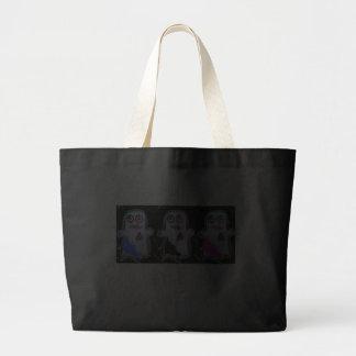Eeek! Khute Ghost Canvas Bags
