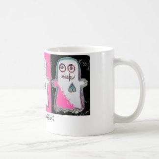 Eeek! Khute Ghost Coffee Mugs