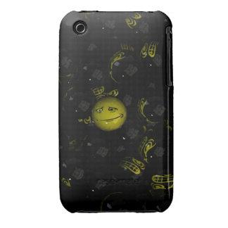¡Eeek! Smiley Case-Mate iPhone 3 Fundas