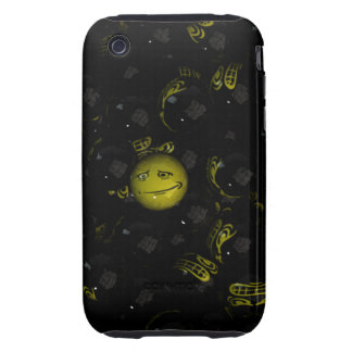 Eeek! Smiley iPhone 3 Tough Cover