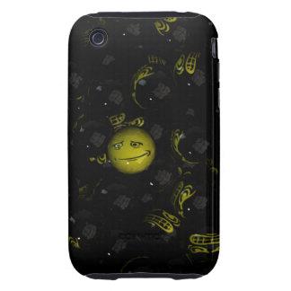 ¡Eeek! Smiley Tough iPhone 3 Cárcasa