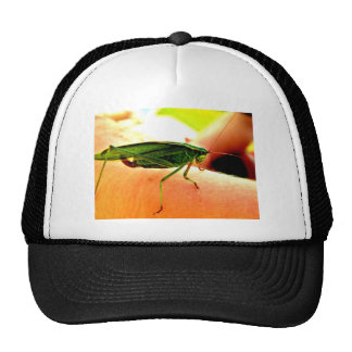 Eeek!  There's a grasshopper on my arm! Trucker Hat