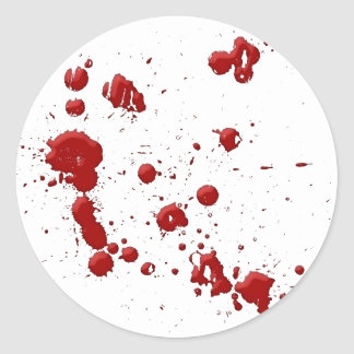 Eeew es esa sangre en su pegatina