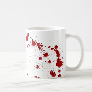 Eeew, es esa sangre en su tazas de café