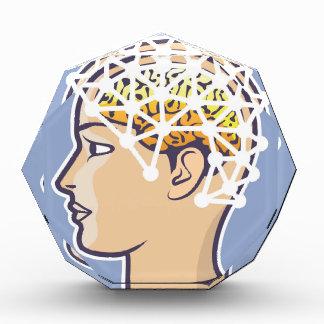 EEG brainwave reading Vector Award