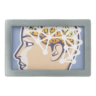 EEG brainwave reading Vector Belt Buckle
