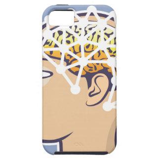 EEG brainwave reading Vector iPhone SE/5/5s Case