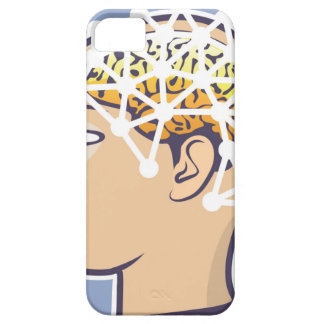 EEG brainwave reading Vector iPhone SE/5/5s Case