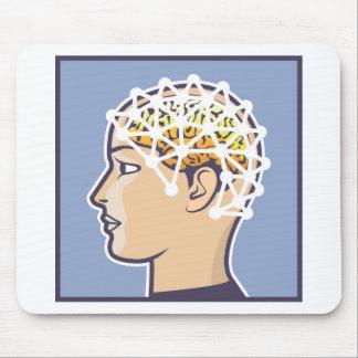 EEG brainwave reading Vector Mouse Pad