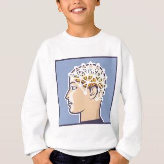 EEG brainwave reading Vector Sweatshirt