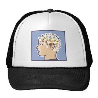 EEG brainwave reading Vector Trucker Hat