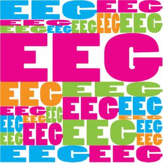 EEG colorido Escultura Fotográfica