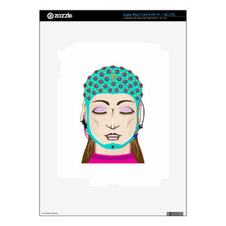 EEG device Mind reading scanning Brain signals iPad 3 Decals